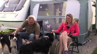 CCs4-01 TRAVEL & CAMPSITES South Cornwall, Polborder House Caravan and Camping Park