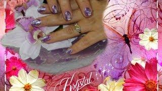 Ciao ragazze ecco una nuova nail art spero vi piaccia e ke si capis...