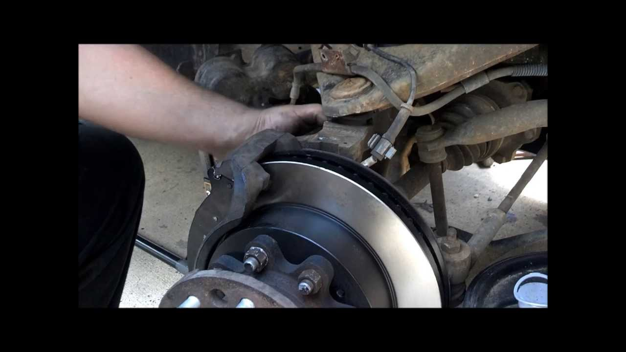 How to Replace RotorsBrakes on K3500 Chevrolet  YouTube