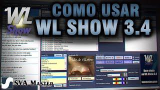 WL Show - Tutorial completo - Programa gratuito para datashow em igrejas - nova versão - SVA Master