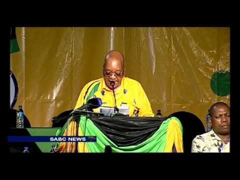 ANC President Jacob Zuma deliveres keynote address at KZN provincial conference