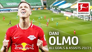 Dani Olmo • All Goals and Assists 2020/21 so far