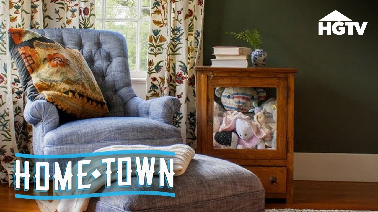 A Home Town Nursery For Baby Helen Hgtv Youtube