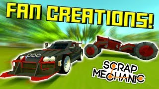 ROCK CRAWLERS MINI GOLF MAZE And MORE 50K Subscriber Special Scrap Mechanic Gameplay