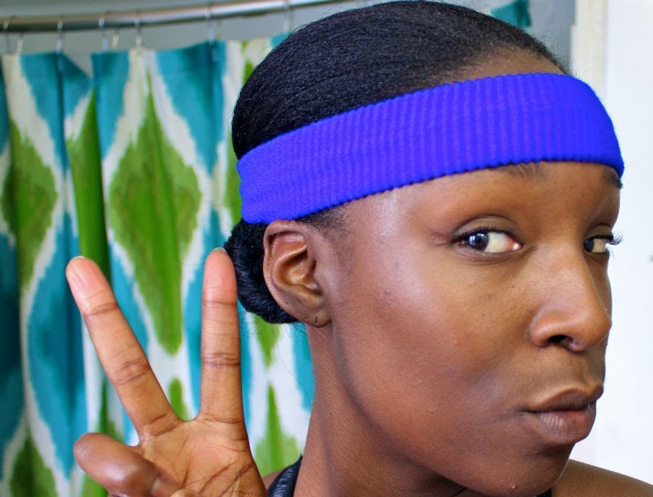 Maintaining Natural Hair While Working Out