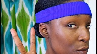 #NaturalHair  How To  | Maintaining Straight Hair While  Exercise Regularly How To