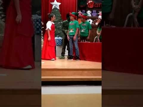 Domingo Trevino Middle school 2016 Christmas play