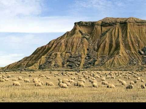Bardenas Reales in Navarra Spain