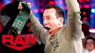 NASCAR Champion Kyle Busch dethrones 24/7 Champion R-Truth: Raw, Dec. 2, 2019