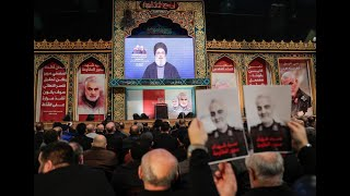 Hezbollah leader vows bloody retaliation for US killing of Iranian general