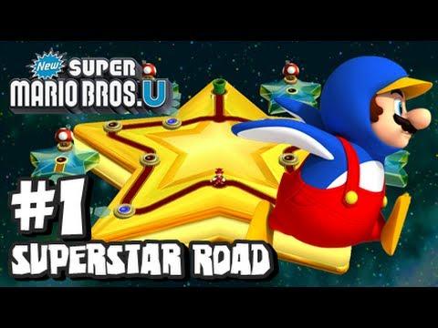 fed64eac072 New Super Mario Bros U Wii U - Superstar Road - Part 1 - YouTube
