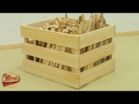 Making a wooden Crate from pallets ( Not Rustic )