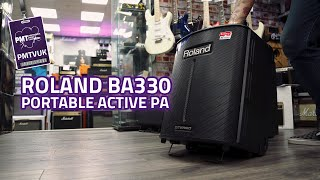 Roland Ba330 Portable Active Pa System Review