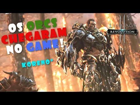 """Lineage 2 Revolution: FINALMENTE Conheça a Nova Raça ORCS!!! """"Korean Server"""" - Omega Play"""