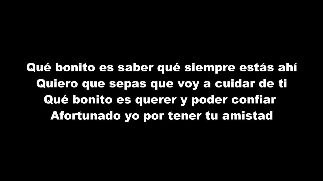 e6b3c409f700 Manuel Carrasco - Qué Bonito Es Querer (LETRA) - YouTube