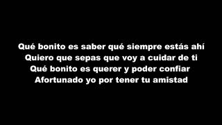 Manuel Carrasco - Qué Bonito Es Querer (LETRA)