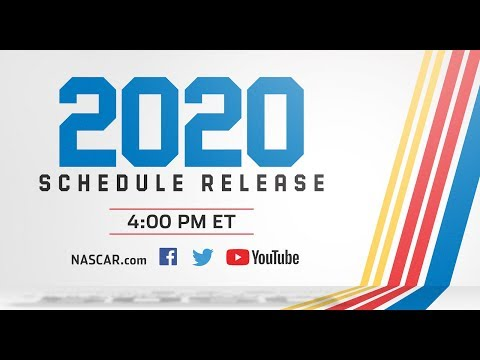 image relating to Printable Nascar Schedule known as The 2020 NASCAR Cup Collection Timetable Demonstrate