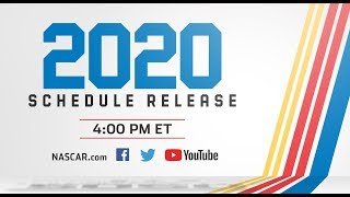 The 2020 Nascar Cup Series Schedule Show