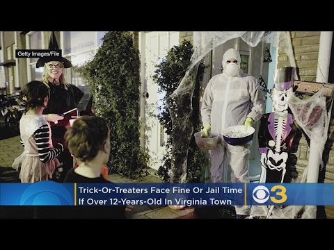 Aly - Virginia made trick or treating illegal for teens