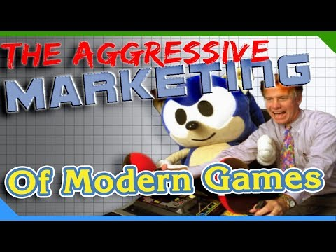 The Aggressive Marketing of Modern Gaming