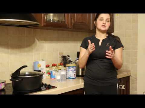 Как разводить детскую молочную смесь нан