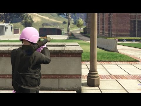 HOE KAN DIT DAT NU WEER!? (GTA V Online Gungame Kill Quota #1)