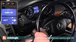 Mercedes W251 esp dyno