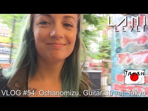 VLOG #54: Ochanomizu, Guitar Street, Tokyo