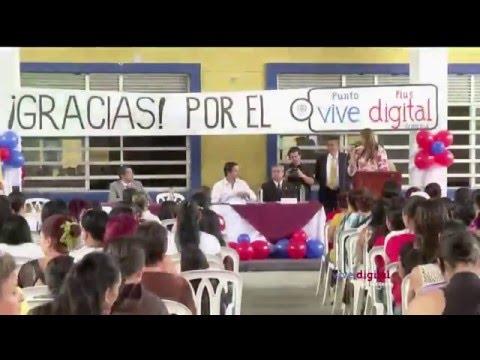 Ministro David Luna explica los ejes del Plan Vive Digital para la gente