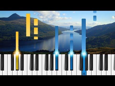 Loch Lomond - Piano Tutorial