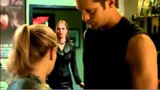 Sookie \\u0026 Eric First Kiss ~ True Blood S03E10