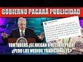 AMLO PAGARÁ PUBLICIDAD COMERCIAL ¡YOUTUBERS NO ACEPTAREMOS!