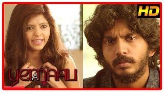 Yemaali Tamil Movie Scenes | Athulya Ravi and Sam Jones break up | Samuthirakani advises his team