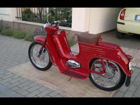 1961 Jawa 555 Deluxe - Restoration
