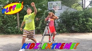 bleem s team xtreme water bottle tricks flips dude perfect style for kids
