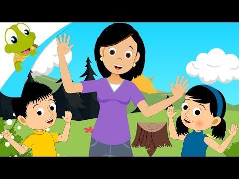 Open Shut Them Song for Kids | Nursery Rhymes and Activity Songs