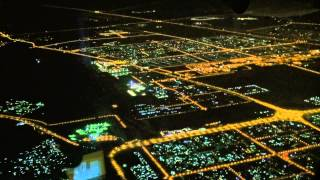 A-380 Emirates Москва - Дубай ночной перелёт(Снято 11 марта 2014., 2014-05-25T08:16:24.000Z)