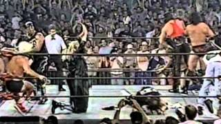 Massive WCW Brawl Interrupted by Sting