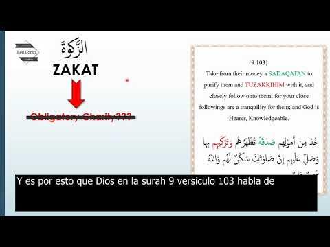 ZAKAT de acuerdo con el Corán