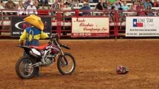 Clown Act Wed Night Rodeo 2015