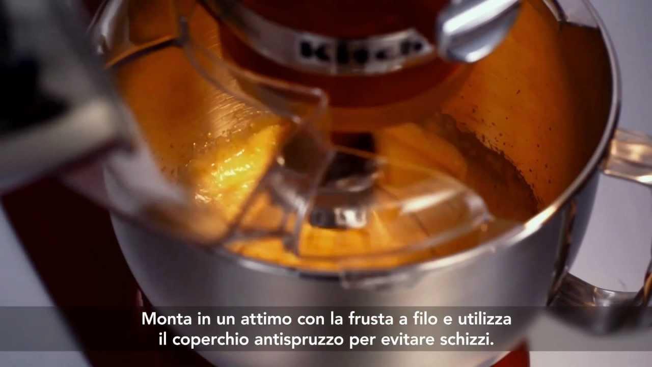 Robot da cucina KitchenAid Artisan - YouTube