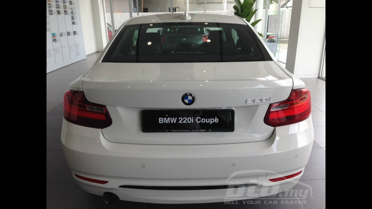 bmw 220i coup exhaust sound youtube. Black Bedroom Furniture Sets. Home Design Ideas