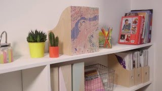 Simple Solutions: Colourful Ikea magazine files hack