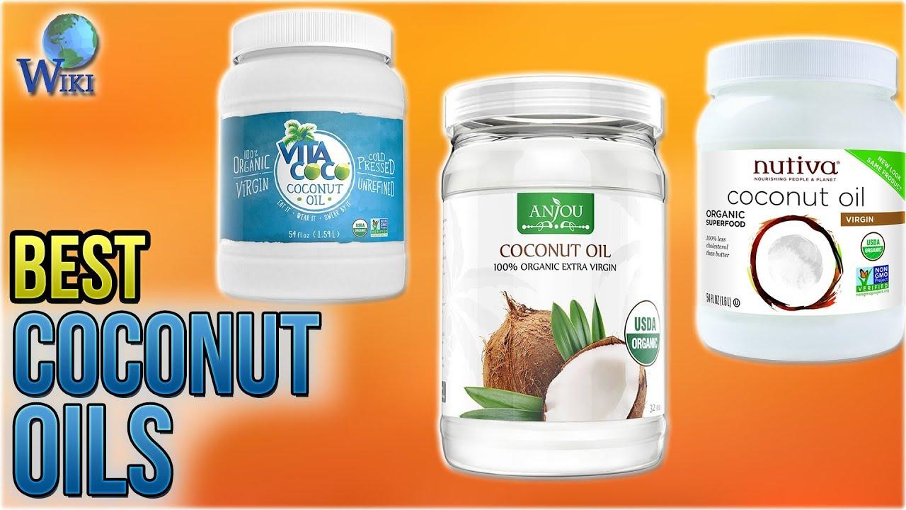 10 Best Coconut Oils 2018 - YouTube