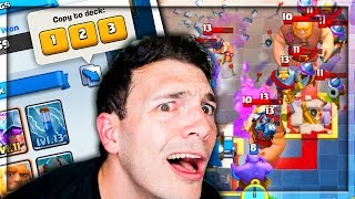 USE MY OPPONENTS DECK - Clash Royale Challenge