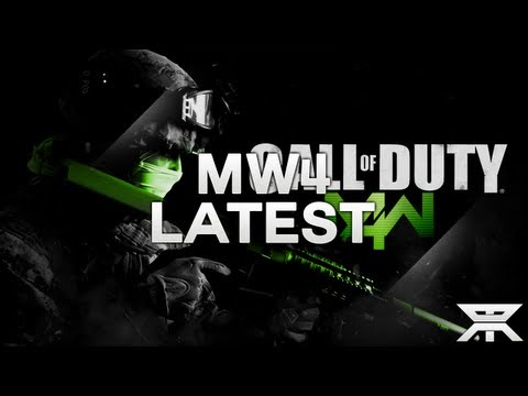 "NEW Modern Warfare 4 ""MW4"" Leaked Images & Posters + Official MW4 Announcement at Xbox 720 Event?"