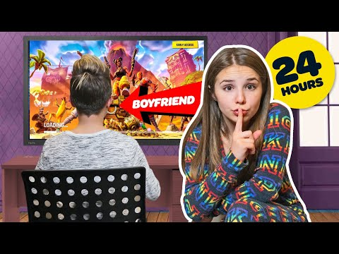 I Spent 24 HOURS OVERNIGHT in my BOYFRIENDS BEDROOM **CAUGHT** 💋| Piper Rockelle