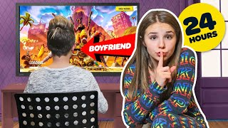 I Spent 24 HOURS OVERNIGHT in my BOYFRIENDS BEDROOM **CAUGHT** 💋| Piper Rockelle thumbnail