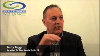 Andy Biggs for 2014 State Senate LD12 - Question 1