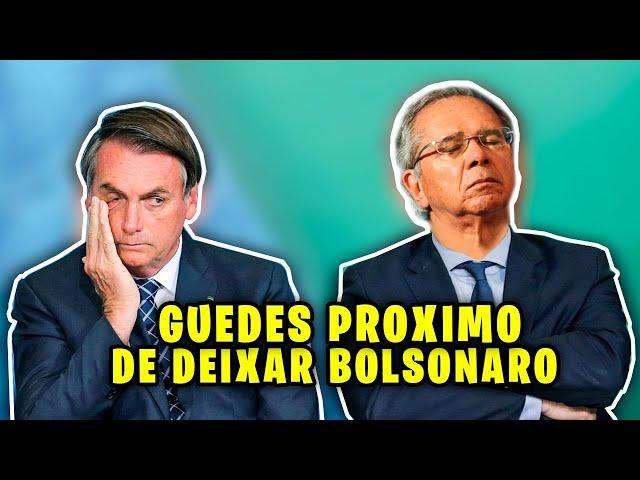 GUEDES PODE DEIXAR GOVERNO A QUALQUER MOMENTO!!
